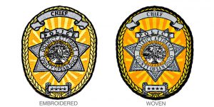 woven-vs-embroidered-police-chief-