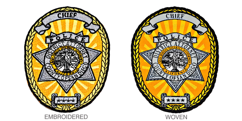 Custom Woven Patches - Will a Woven Patch Make Your Logo