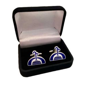 custom enamel cufflinks