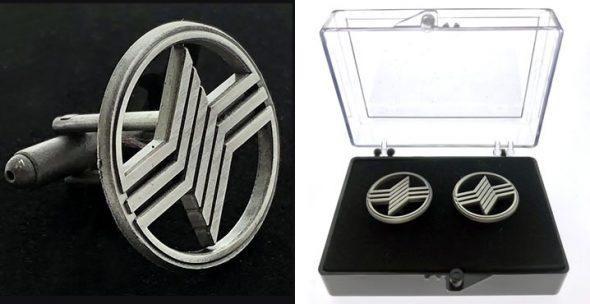 custom logo cufflinks with acrylic box