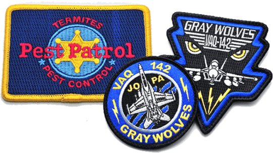 Custom Embroidered Patches Military Logo Law Enforcement