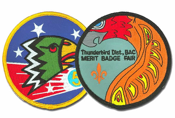 custom scout patches