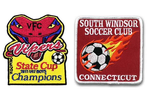 state cup champiins - south windsor soccer club patches
