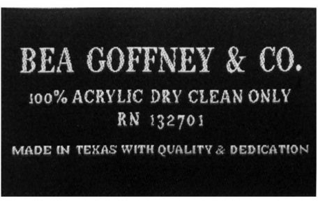 damask label bea goffney