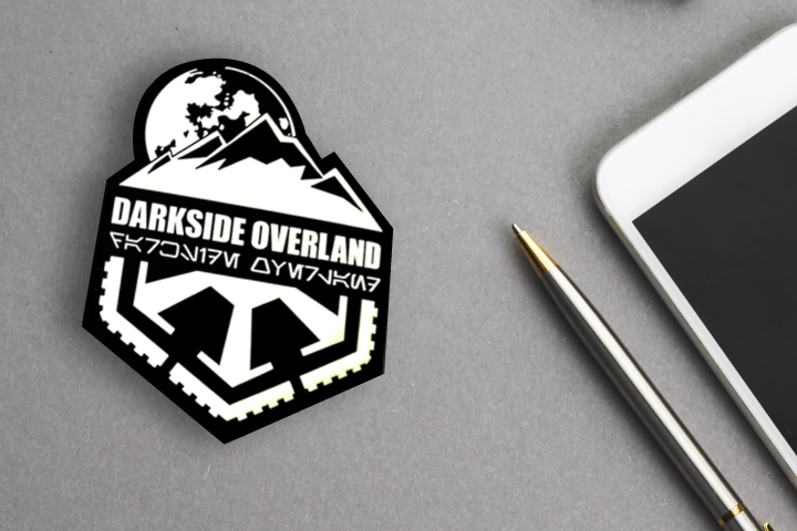 4. Glow in the Dark PVC Velcro Patches for Backpacks
