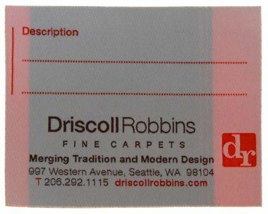 driscoll-robbins-fine-carpets-woven-labels