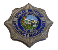 Embroidered EMS Badge