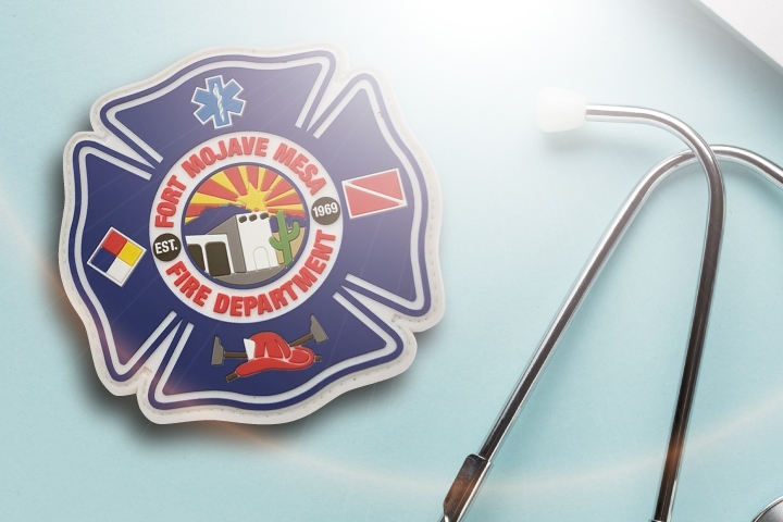 Fire Department Velcro Patches for Jackets