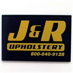 J&R Upholstery - Furniture PVC Labels