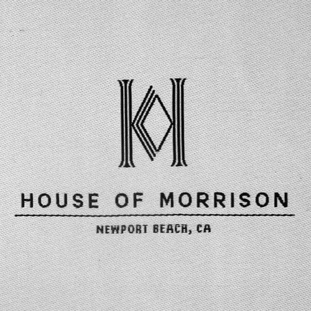 self adhesive furniture-woven-label-house-morrison