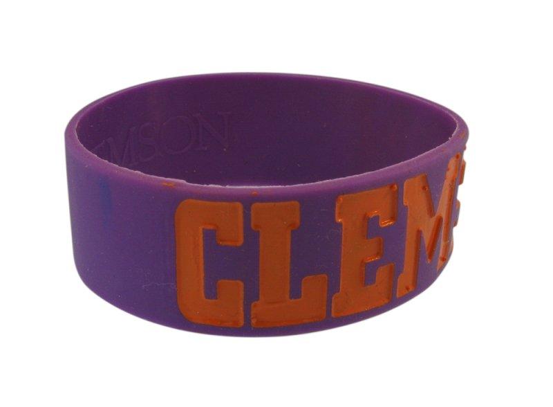 clemson silicone bracelet