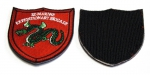 3D Marine Brigade Embroidered Patch with Velcro