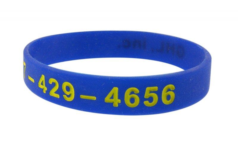 ghl2 silicone wristband