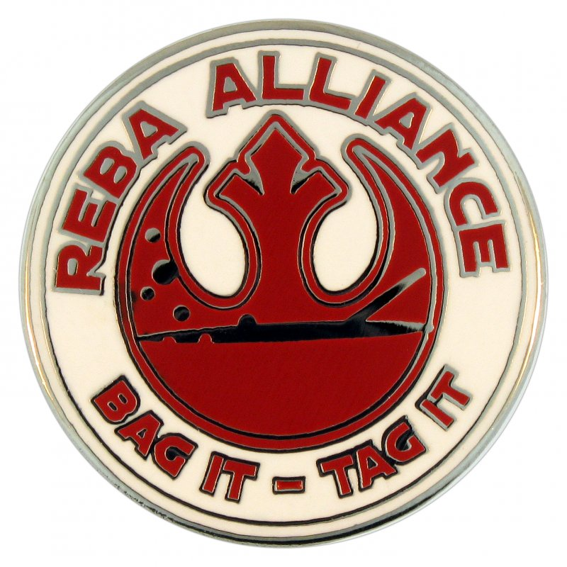 reba alliance hard enamel pin