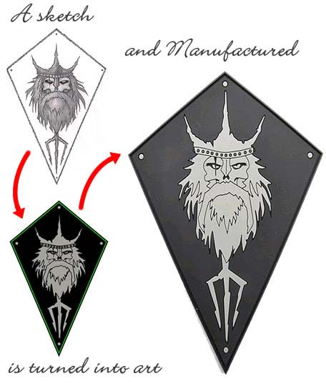 custom pvc patches from sketch to product
