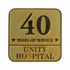 40 Years of Service Lapel Pins