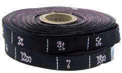 maiden heaven woven size tape roll