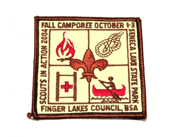 scout camporee patch