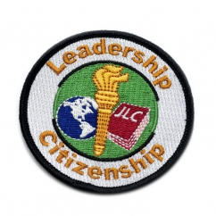Leadership Citizenship Embroidered Patch