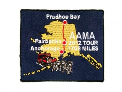 fairbanks tour embroidered patch