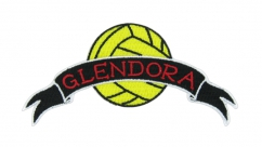 glendora soccer laser cut patch
