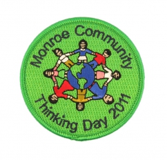 community embroidered patch