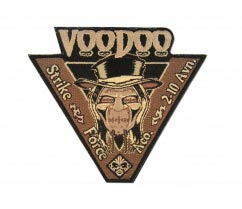 Voodoo Laser Cut Patch