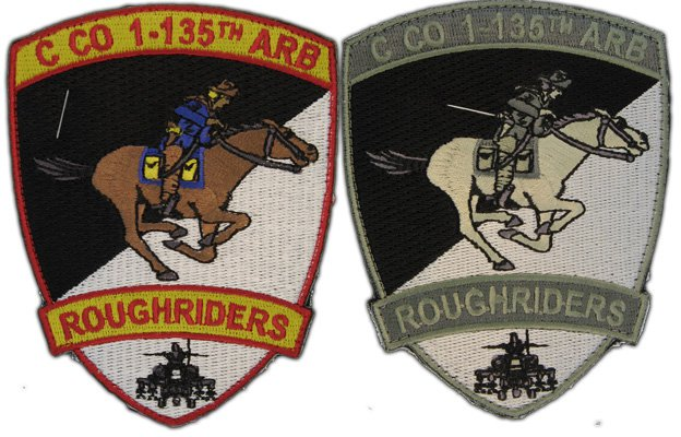 embroidered unit patches