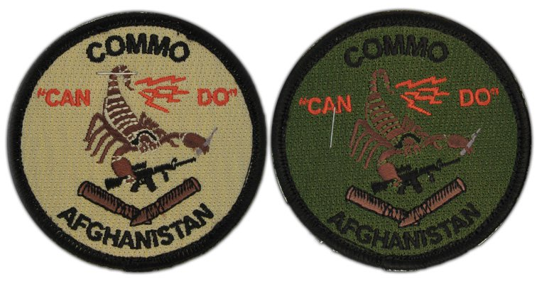 squadron embroidered patch