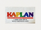 printed polycotton labels - kaplan