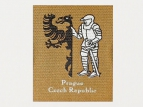 printed polycotton labels - knight