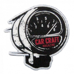 Car Craft Magazine Printed Patch
