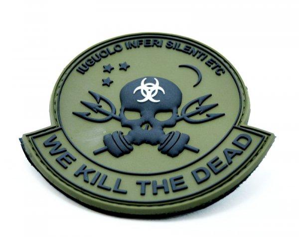 Zombie Warfare PVC Patch