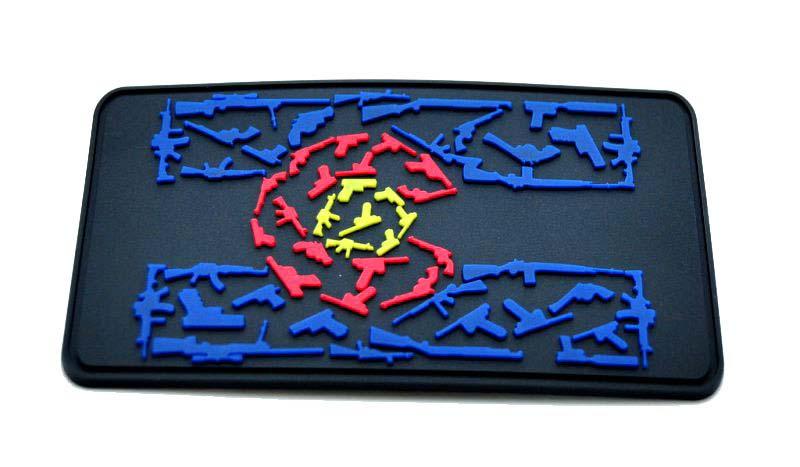FireArms PVC Patch