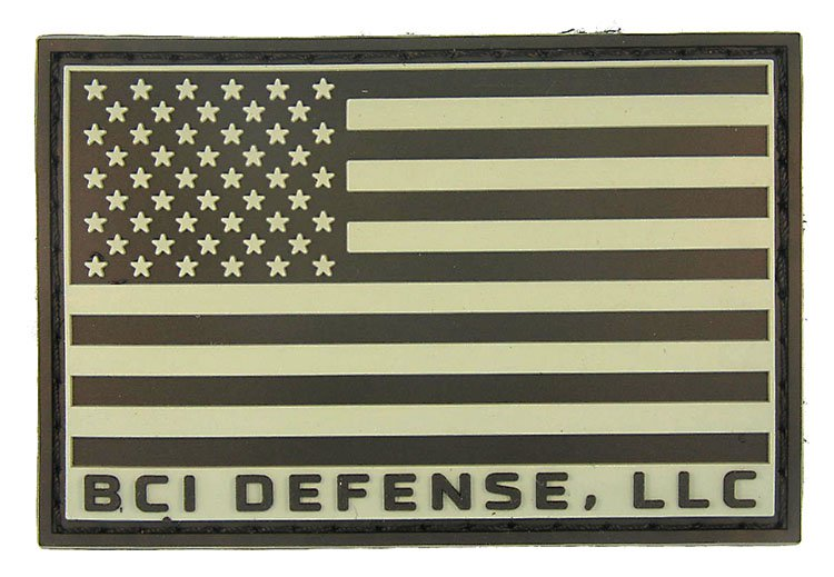 BCI Defense PVC Flag Patch