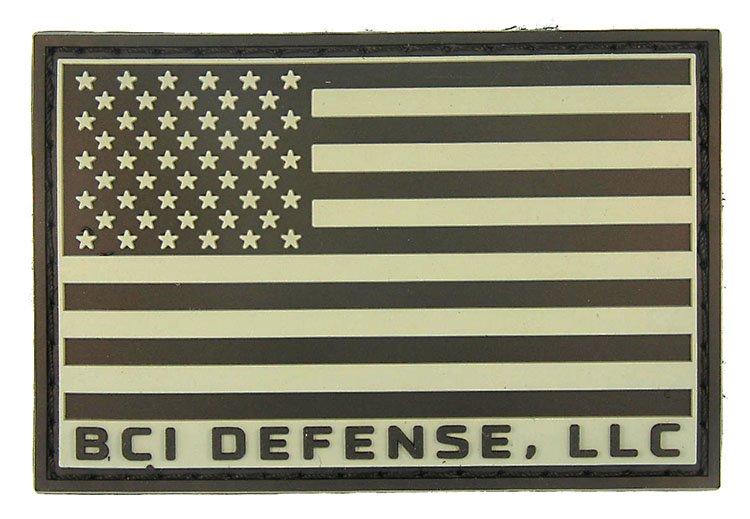 BCI Defense PVC Flag Patch