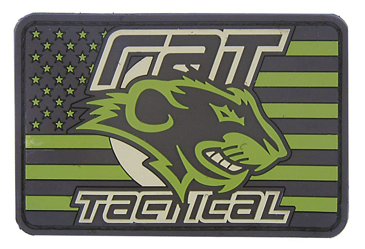 American Flag Patch & RAT Tactical logo
