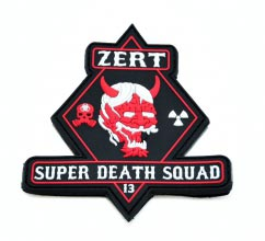 ZERT Super Death Squad Velcro Patch
