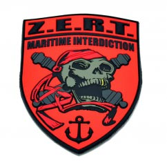 ZERT Maritime Interdiction pvc Patch