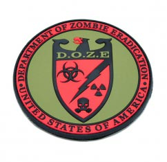 DOZE Zombie Patch pvc