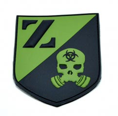 ZERT pvc Shield Patch