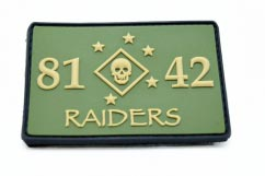 raiders pvc patch
