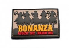 Bonanza Patch -3D PVC patches