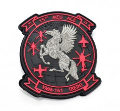 Horse pvc Patch2D Custom Shaped pvc Patch with Velcro Backing.