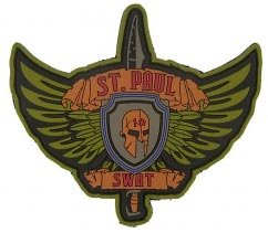 SWAT Custom Tactical Patches