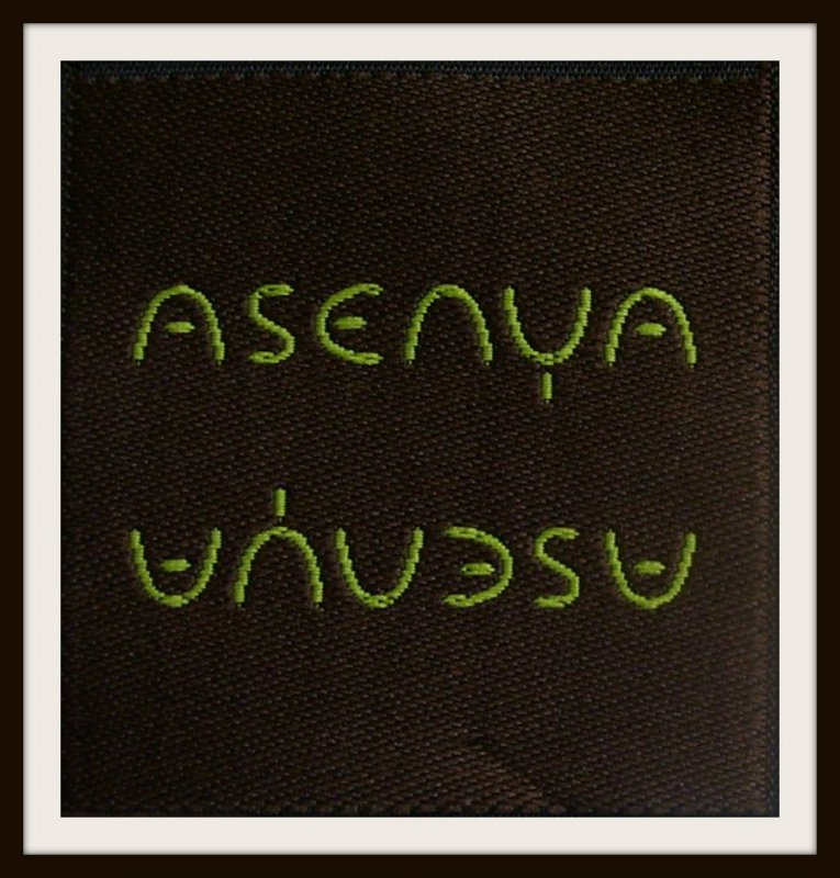 Labels for a Design Studio in NYC: Asenya