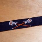 G lacrosse sports ribbon
