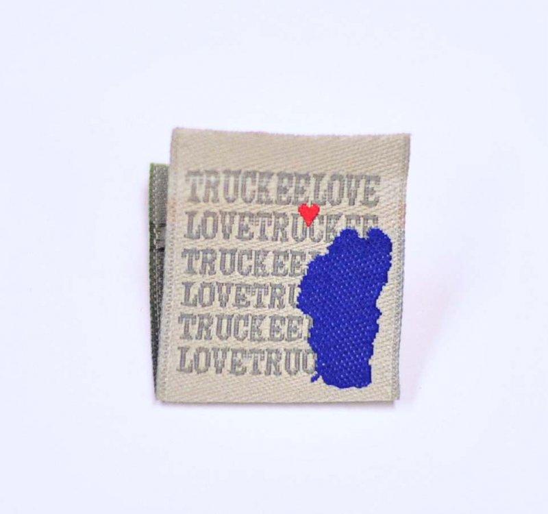 Truckee Silver Hem Tag