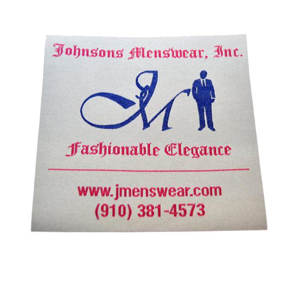 Woven Label Fine Men Clothiers
