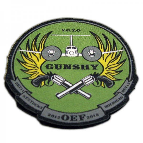 gunshy woven patch